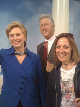 Mom and the Clintons